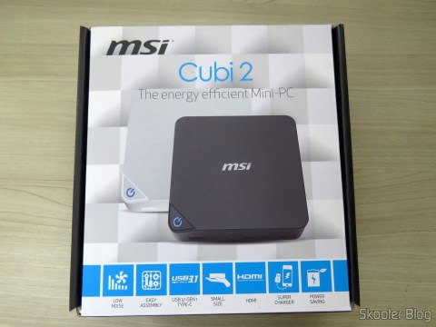 MSI Cubes 2, on its packaging