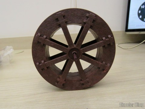 Waterwheel 10, 7 cm for fountains and cascades of Decoration