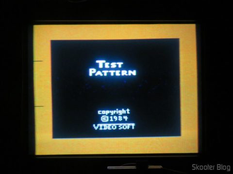 Color Bar Generator on the Atari 2600 the Polivoks c/external source, still cold