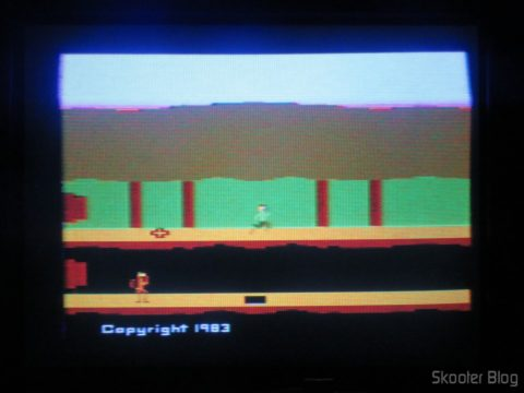 Pitfall 2 on the Atari 2600 the Polivoks c/external source