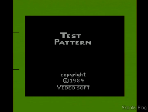 Color Bar Generator with Atari 2600 set and still cold