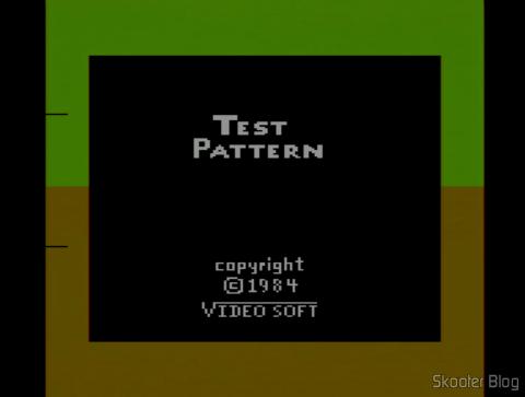 Color Bar Generator com Atari 2600 ajustado e já quente