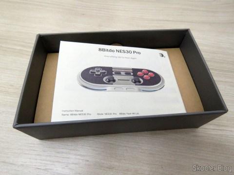 Crissaegrim 8Bitdo instruction manual NES30 PRO