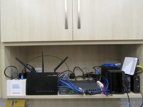 2º Easy Smart Gigabit Switch 16 Doors TP-Link TL-SG1016DE, After installed