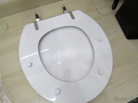 Polyester toilet seat for Dinnerware Celite Azalea, the brand Sedile