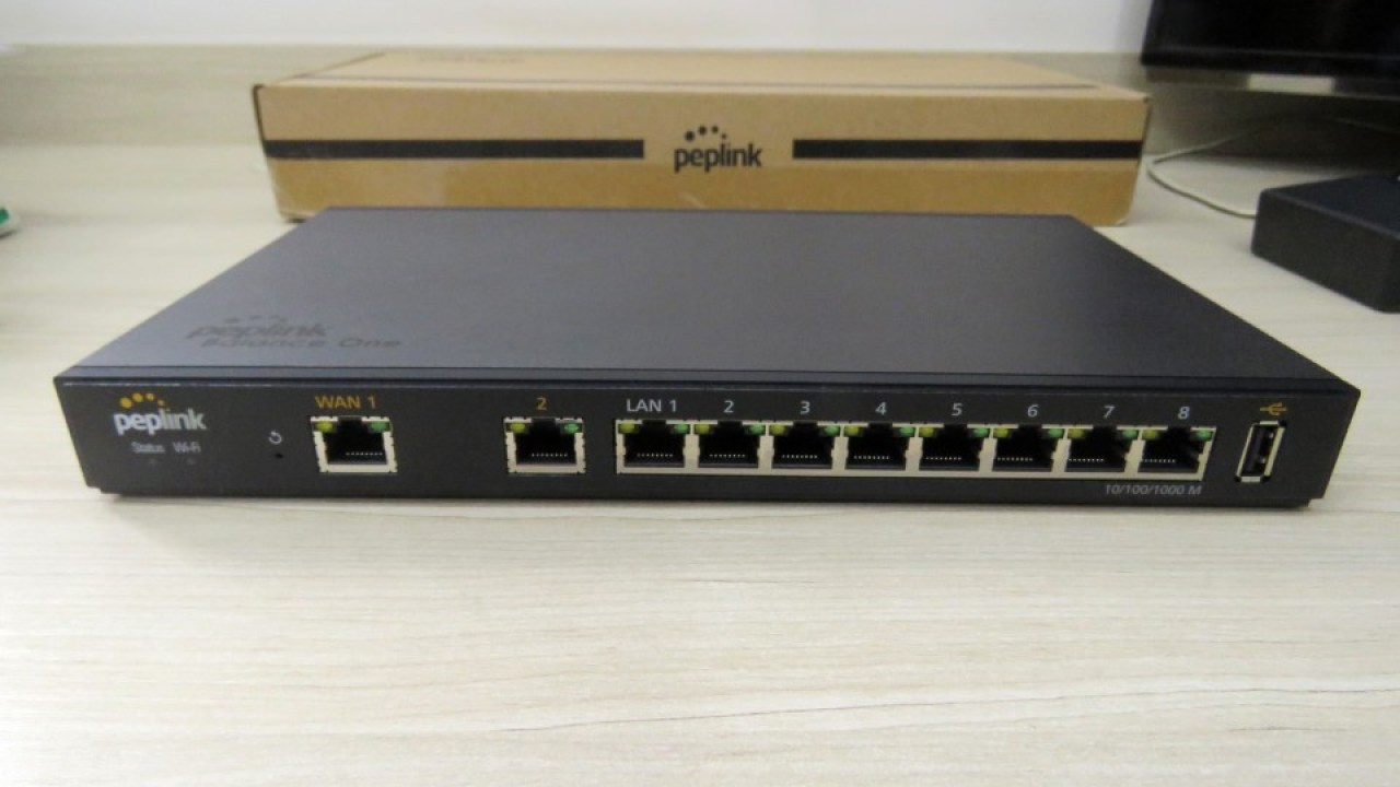 Peplink-Balance One 600Mbps Dual-WAN Router with Dual-Band Wi-Fi
