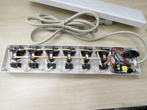 Inside Line with filter 6 TOMADO Universe, 2 USB, and Individual Switches