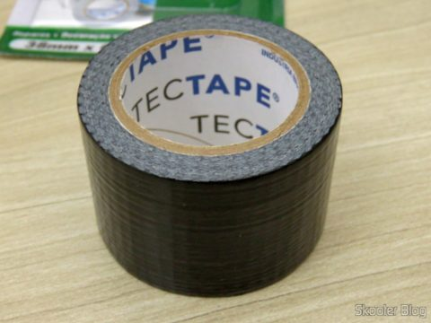 Multipurpose Tape Black Silvertec Tectape