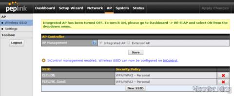 Configurando WiFi no Peplink Balance One