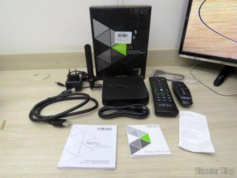 Tv Box / Media Hub Minix NEO U1 and accessories