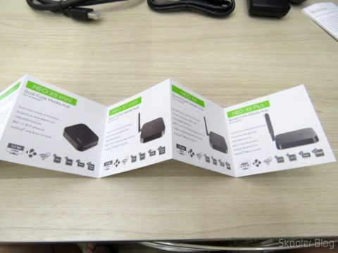 Brochures and manuals of the TV Box / Media Hub Minix NEO U1