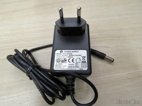 Power supply in the European standard for the Minix NEO U1