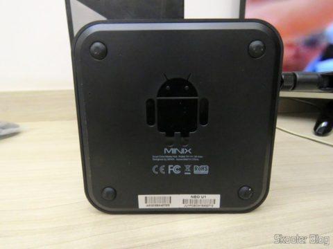 Minix NEO U1: bottom