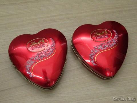 Kit com 2 Lindor Heart - Lindt