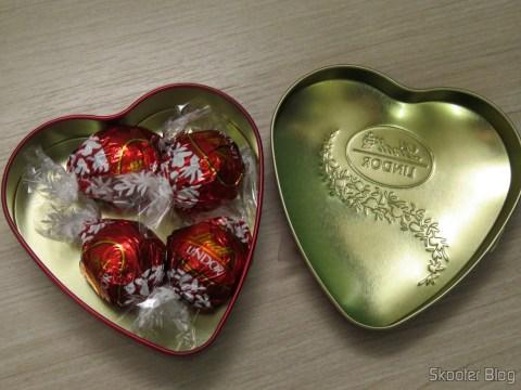 Kit with 2 Lindor Heart - Lindt