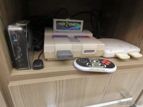 Retro Receiver connected to the SNES Super Nintendo, operation