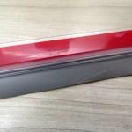 Friso de Porta de PVC Transparente Adesivo 90cm