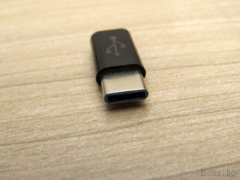 Adaptador USB 3.1 Tipo C Macho para Micro USB Fêmea Vention VAS-S10-B