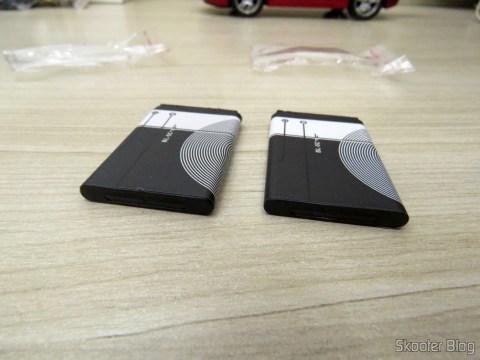 2 Baterias BL-5C 1020mAh