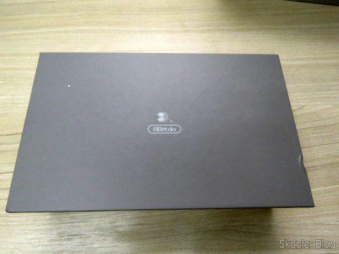 8bitdo SNES30 GamePad, em sua embalagem