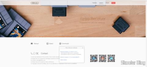 Atualizando o firmware do Retro Receiver SNES