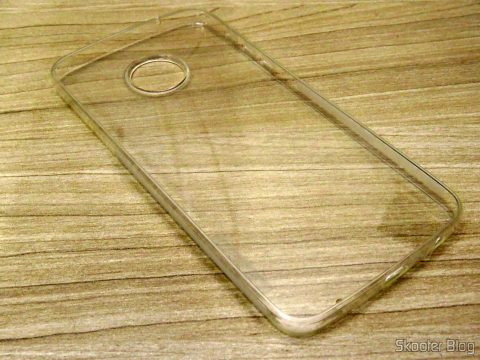 Transparent cover for Motorola Moto Z Play Nillkin Nature 0, 6 mm TPU