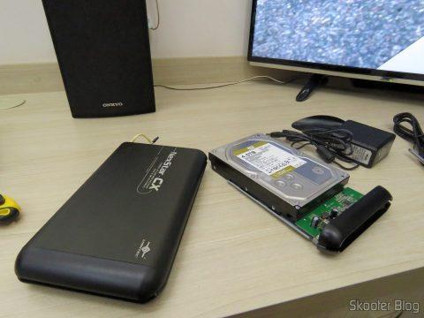 HD Western Digital WD Gold 4TB no case Vantec NexStar CX
