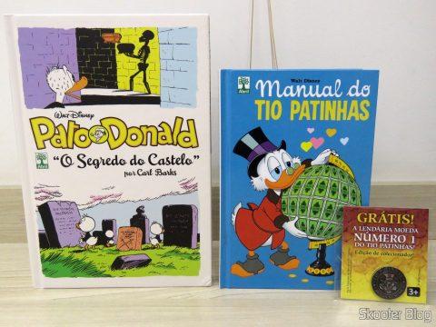 Pato Donald - O Segredo do Castelo e Manual do Tio Patinhas