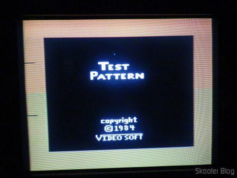 Paleta de cores PAL-M do novo Atari 2600
