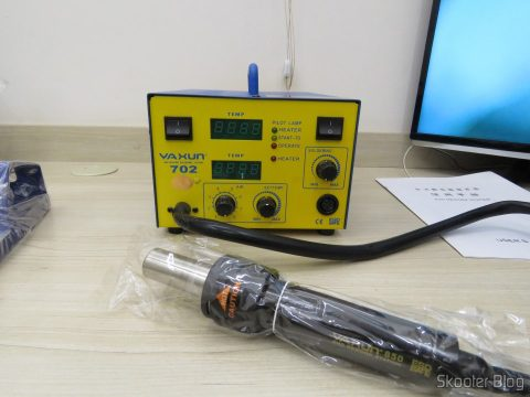 Soldering station and Hot air Rework Yaxun 702 110v