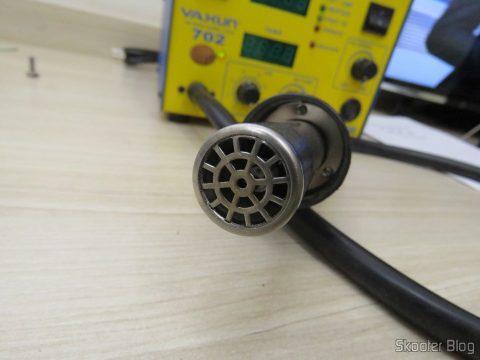 Jateador de Ar Quente da Estação de Solda e Retrabalho c/ Ar Quente Yaxun 702 110v
