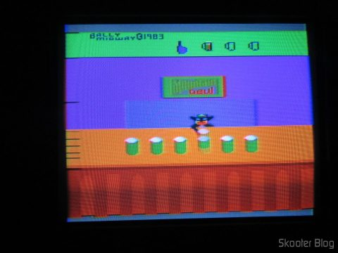 Tapper on the Atari 2600 in the process of de-transcoding