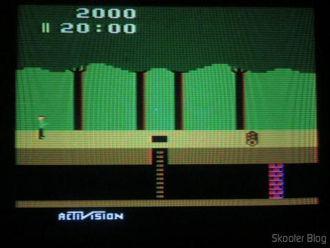 Pitfall, running at NTSC.