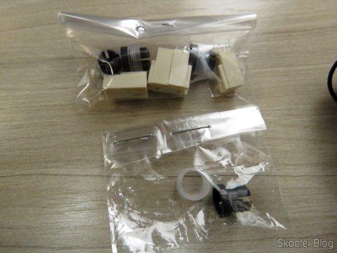 Alojamento Para Conector KK 2 Vias Tipo Molex 5051-2 e suporte de LED (substituição)