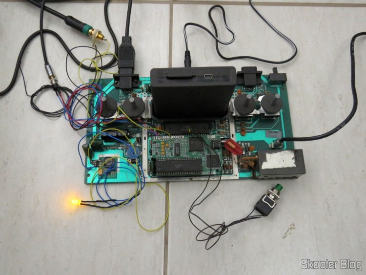 The LED on the Atari 2600, operation.