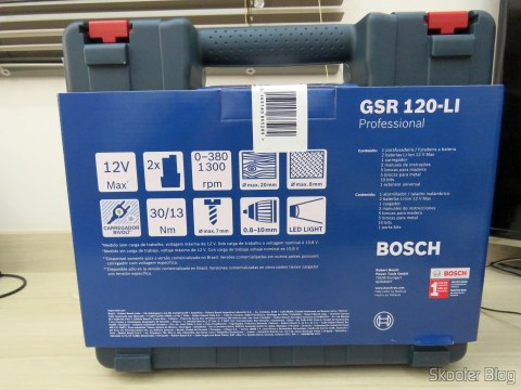 Screwdriver-drill Bosch 12V battery GSR 120-LI, in your case