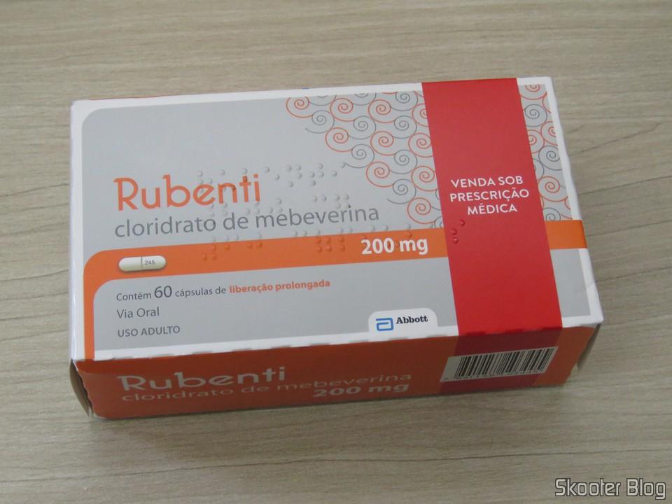 Rubenti - Cloridrato de Mebeverina 200 mg
