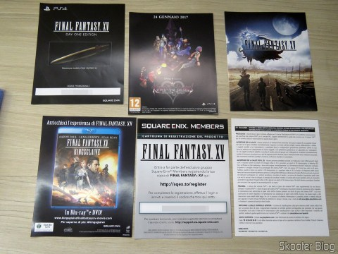 Final Fantasy XV, Also included in the promotion.