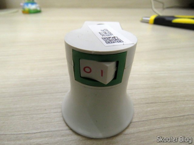 Socket adapter for Lamp E27 Socket with switch