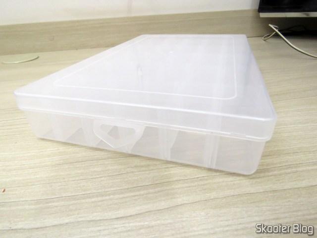 Caixa Organizadora Plástica com 36 Compartimentos