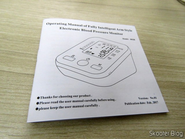 Operating instructions Electronic blood pressure Monitor (replacement).