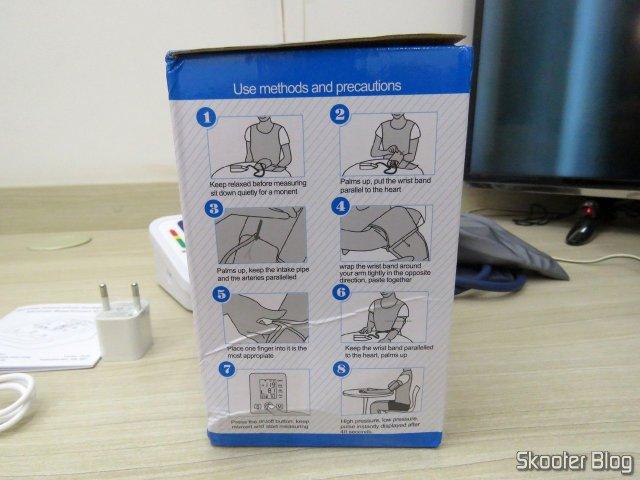 Embalagem do Monitor de Pressão Arterial Eletrônico (substituição).