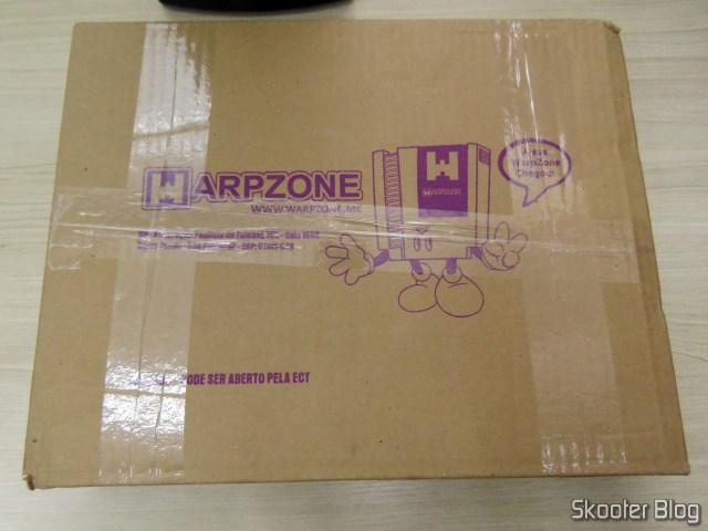 Pacote da WarpZone com o livro Mega Drive Definitivo