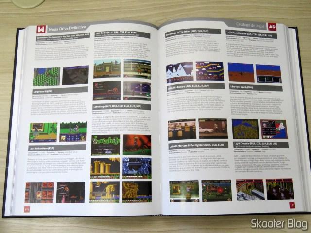 Livro Mega Drive Definitivo.