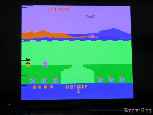 Bobby is Going Home, usando a saída S-Video do 2600RGB.