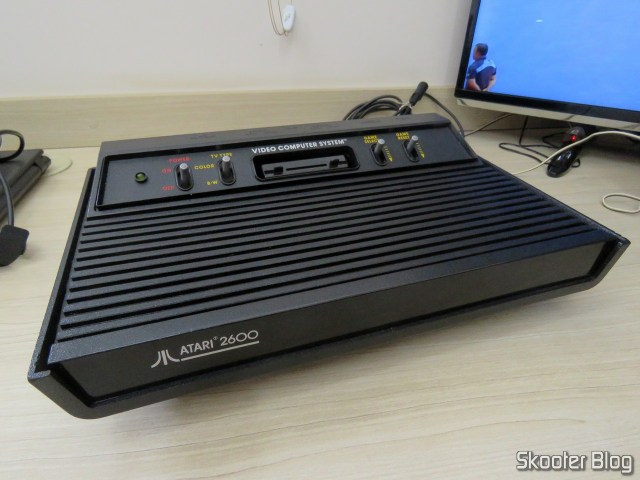 Atari 2600, after cleaning.