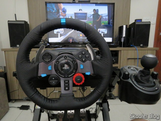 Testing the Extreme Racing Cockpit EXR-S XT.