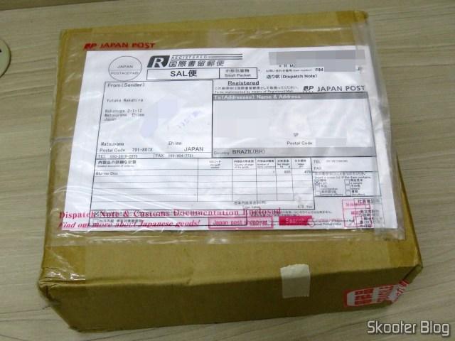 Pacote com o 2º Tubo com 50 Blu-Ray Recordable BD-R 25GB Verbatim 6X.