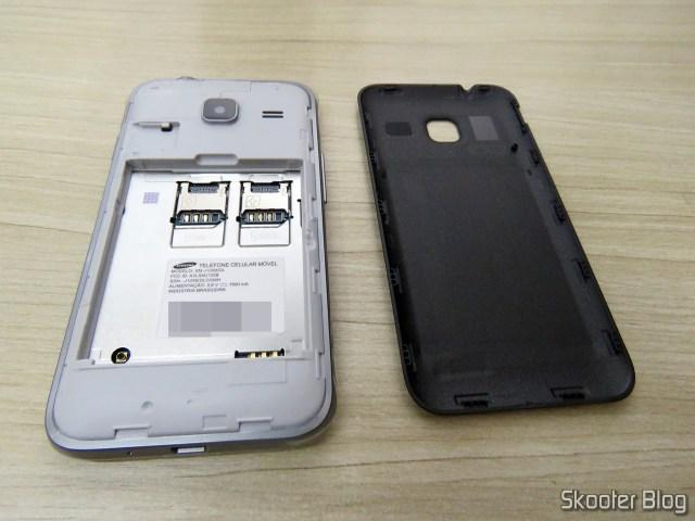 Smartphone Samsung Galaxy J1 Mini Duos.