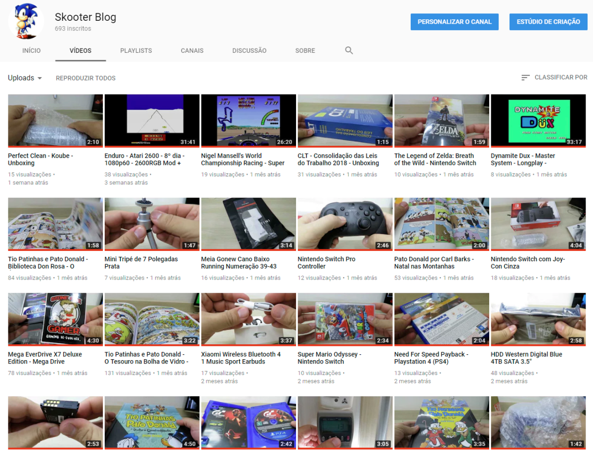 Subscribe to the Youtube channel of the Skooter Blog